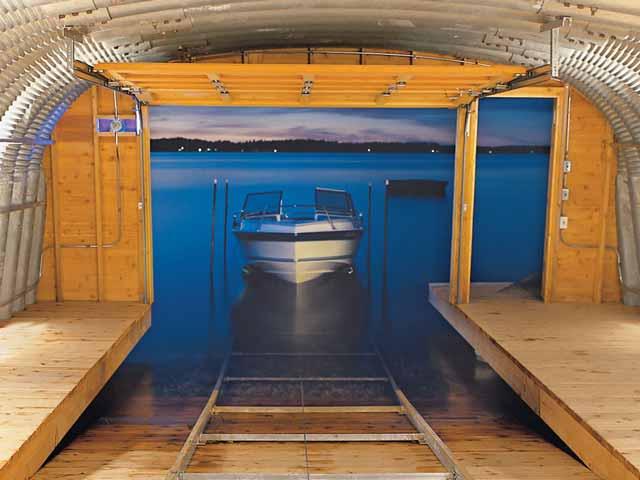 Выбираем место для хранения катера